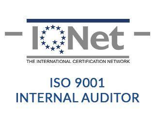 iso 9001 internal auditor certificacion
